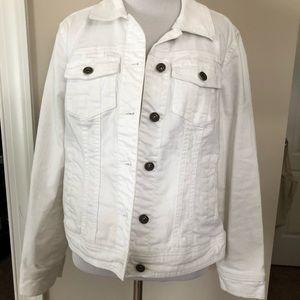 Whit jean jacket